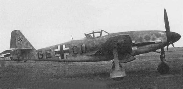 Messerschmitt Me 309 V1 (1942) [1:72 - HUMA-Modell] Gme309