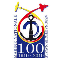 Logo des 100 ans de l'aéronautique navale