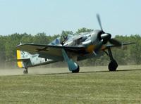 Fw 190 à la Ferté-Alais, le 24 mai 2010