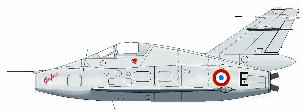 Profil couleur du Nord N.1402 Gerfaut