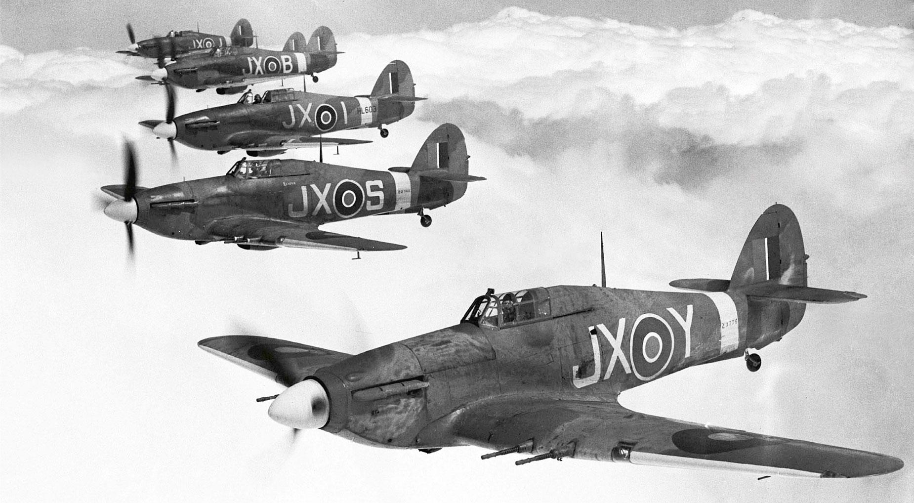 Hawker Hurricane Avionslegendaires Net