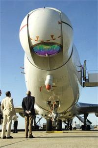 Les nouvelles armes Lasers B747-ABL-laser
