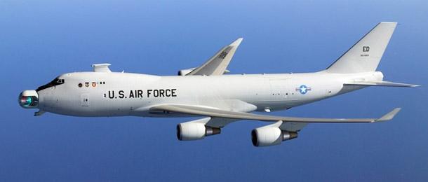 Les nouvelles armes Lasers B747-ABL