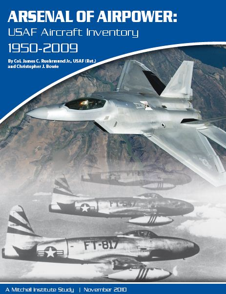 inventaire-avion-USAF-1950-2009