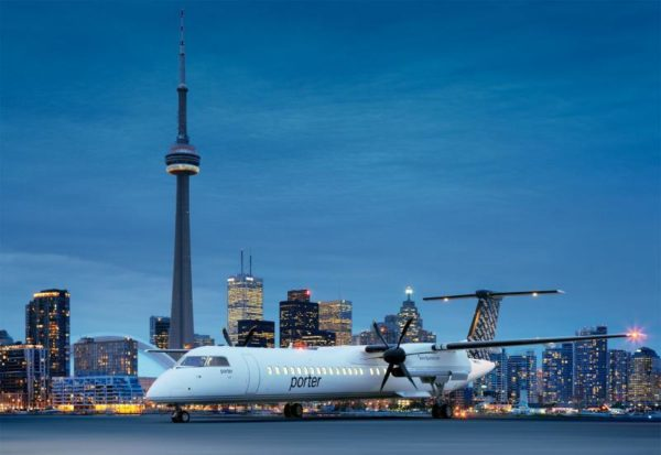 Billy Bishop Porter Q400