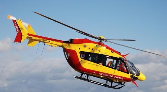L 39 h licopt re cet outil pr cieux de sauvetage - Helicoptere jaune et rouge ...