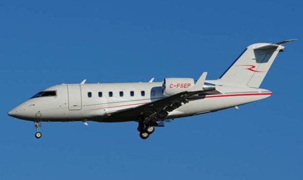 Top Aces Bombardier Challenger 601