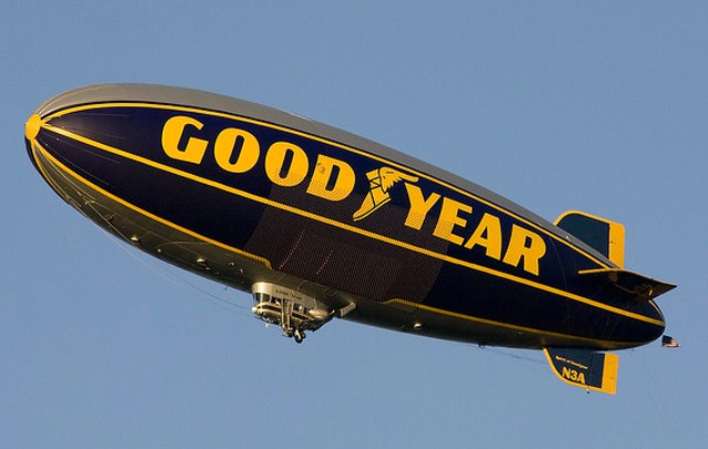 ballon dirigeable good year