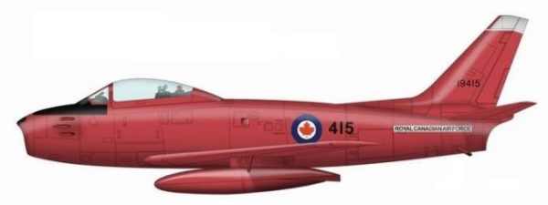 RCAF Acrobatque Fireballs