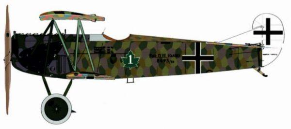 RCAF acrobat Fokker