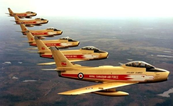 RCAF acrobatique Golden Hawks3