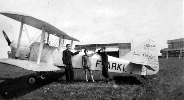 Le Caudron C-275 Luciole de la SAP. En 1939, il a servi au sein de l'école de pilotage élémentaire de Blois. (Photo Robert Bezard, collection Jean-Pierre Bezard).