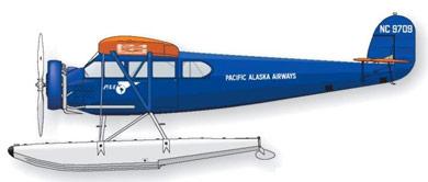 Profil couleur du Fairchild Canada FC-71
