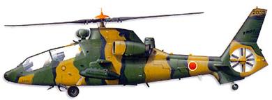 Profil couleur du Kawasaki OH-1 Ninja