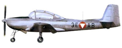 Profil couleur du Piaggio P.149