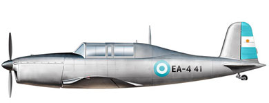 Profil couleur du Fiat G.46
