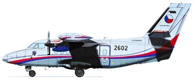 Profil couleur du Let L-410