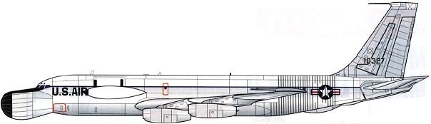 Profil couleur du Boeing EC-135 Combat Ligthning