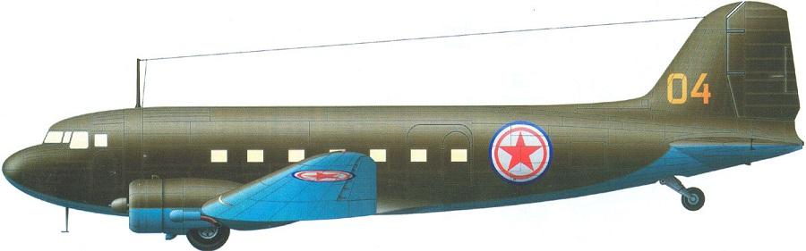 Profil couleur du Lisunov Li-2 'Cab'