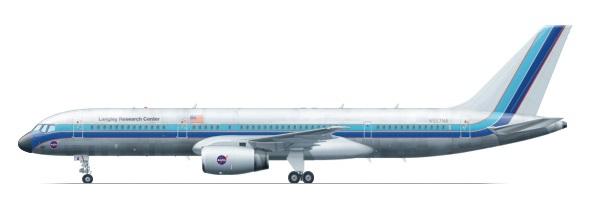 Profil couleur du Boeing C-32