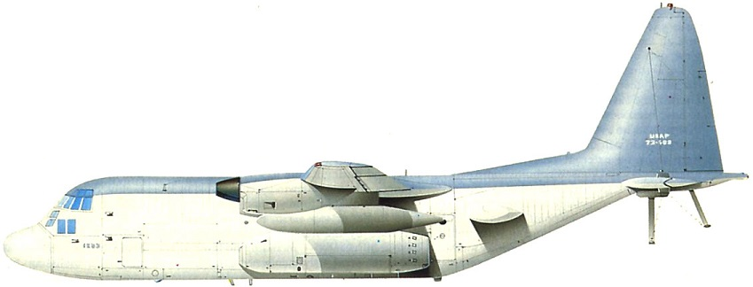 Profil couleur du Lockheed EC-130 Commando Solo / Compass Call
