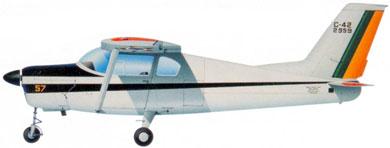 Profil couleur du Neiva U-42/C-42 Regente