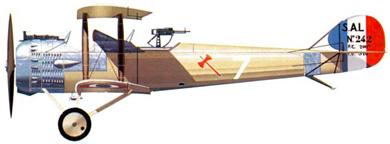 Profil couleur du Salmson 2A2