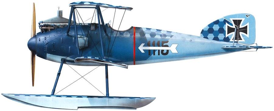 Profil couleur du Albatros W IV