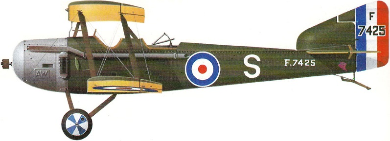 Profil couleur du Armstrong Whitworth FK.8