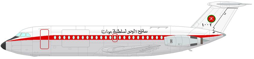 Profil couleur du BAC 1-11