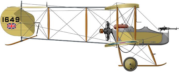 Profil couleur du Vickers F.B. 5 Gunbus