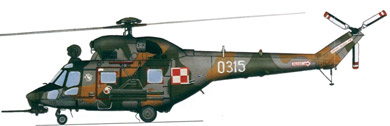 Profil couleur du PZL W-3 Sokol / Anakonda