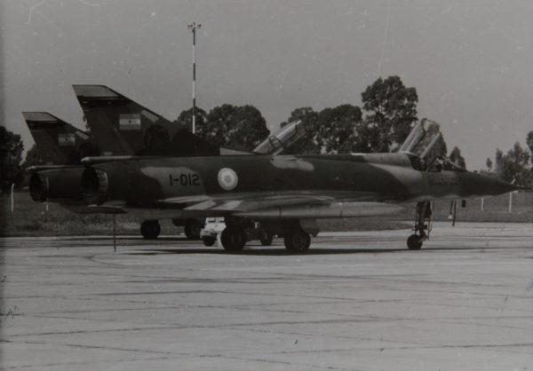 Mirage IIIEA aux temps de la guerre des Malouines.