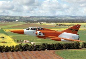 Mirage IIID dédiés aux essais australiens.