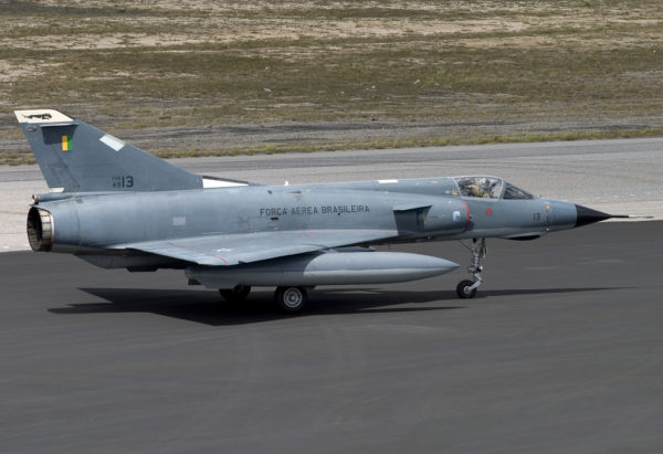 Dassault F-103A selon la nomenclature brésilienne.
