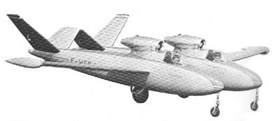 Profil couleur du Fouga CM.88 Gémeaux