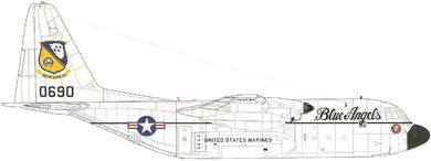 Profil couleur du Lockheed KC-130 Hercules