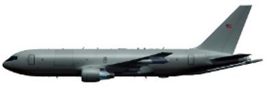 Profil couleur du Boeing KC-767 / KC-46 Pegasus