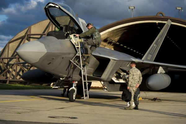 F-22 inaugural deployment to Europe