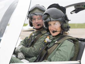 La commandant honoraire Sophie Rhys-Jones.