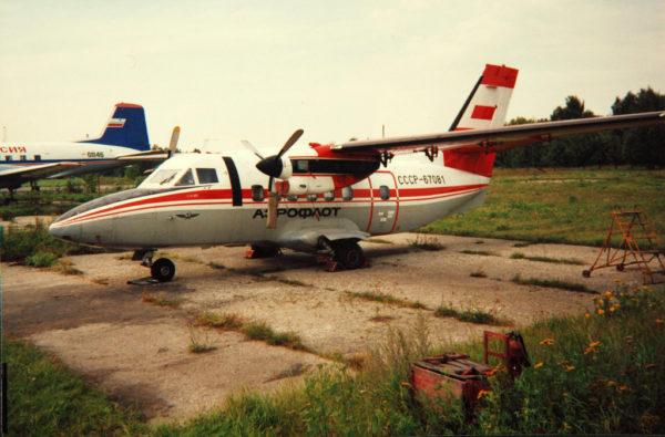 Véritable bonne à tout-faire d'Aeroflot, le bitrubopropulseur Let L-410.