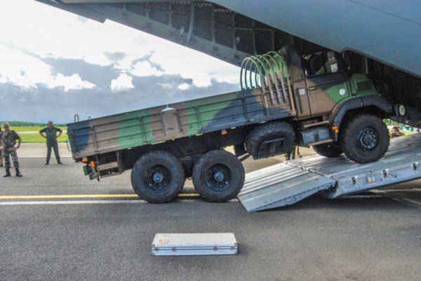 Le GBC-180 entrant à bord de l'Atlas.