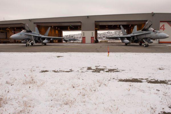 McDonnell Douglas CF-188 Hornet à CFB-Goose Bay.