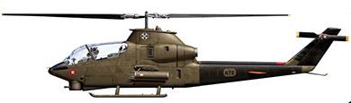 Profil couleur du Bell AH-1 Cobra