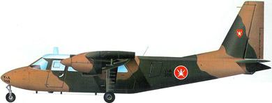 Profil couleur du Britten-Norman BN-2 Islander / Defender
