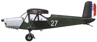 Profil couleur du Hanriot H-180