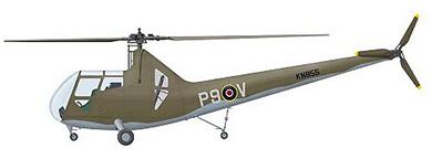 Profil couleur du Sikorsky R-6 / HOS Hoverfly II