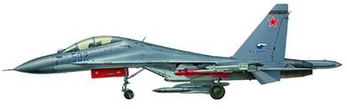 Profil couleur du Sukhoï Su-30 'Flanker-C'