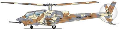Profil couleur du Bell YAH-63 King Cobra