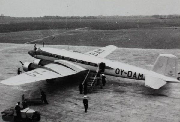 Un Focke-Wulf Fw 200 civil exporté au Danemark.